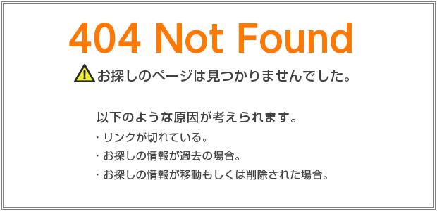 アクセスエラーページ